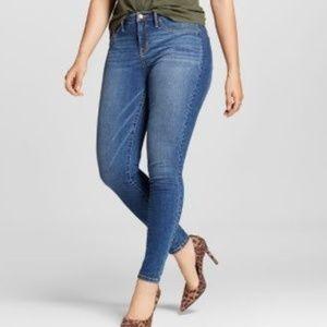 Seven7 denim blue jeans skinny fit size 20